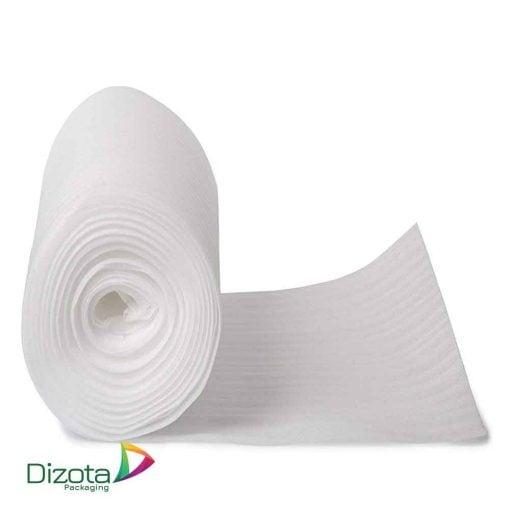 Cuộn mút xốp PE foam 1mm x 300m màu trắng