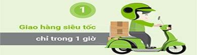 Dizota Packaging hỗ trợ giao hàng nhanh nội thành Hà Nội trong 1 giờ.