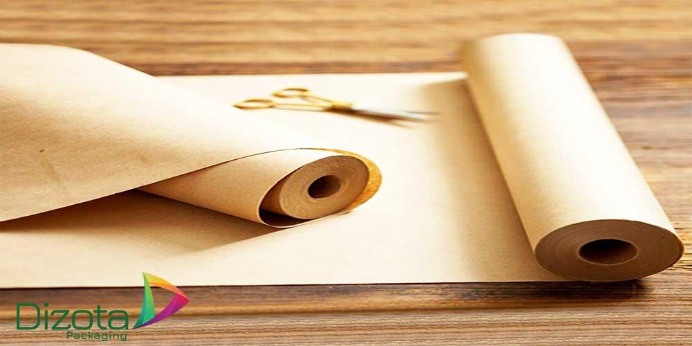 Cuộn giấy xi măng màu vàng tại Dizota Packaging