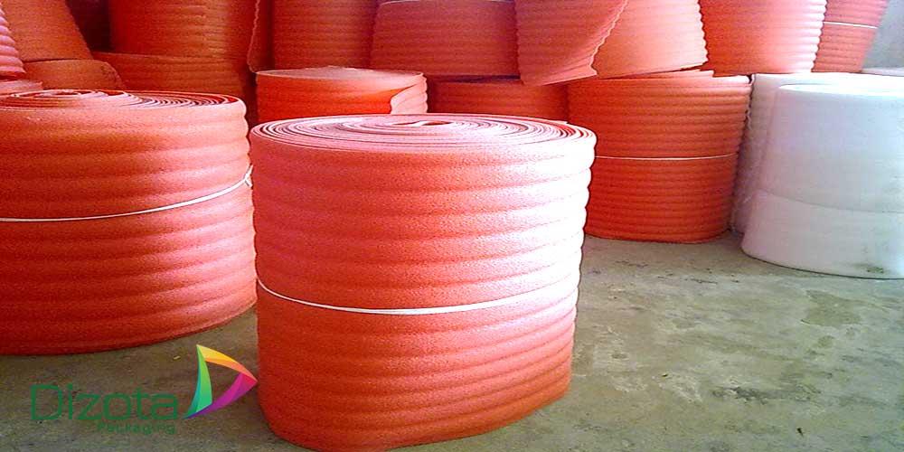 Cuộn xốp PE foam màu hồng chống tĩnh điện