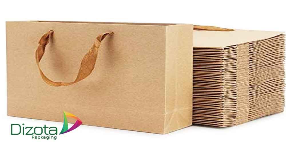 Túi giấy có quai gói hàng đựng đồ